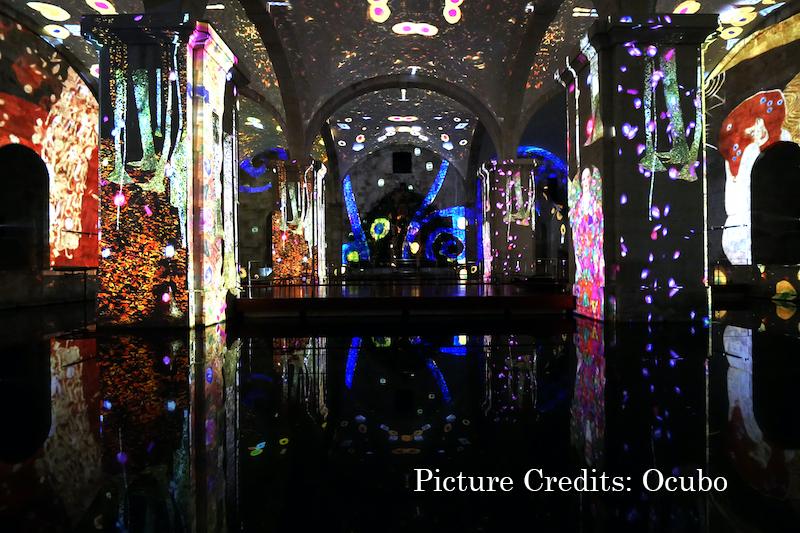 Ocubo Chooses PIXERA for Klimt and Monet Exhibition